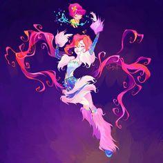 Winx bloom Lovix by LadyShalirin on DeviantArt