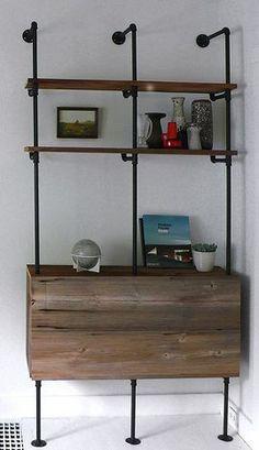 Sidebar or bedroom desk
