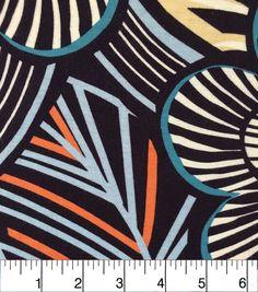 Apparel Knit Fabric-Damask Teal Rayon Spandex Knit