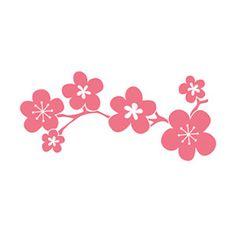 cherry blossom graphic
