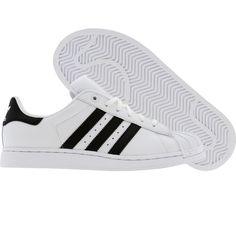 Adidas Superstar 2 K (white / black1 / white) G04532 - $54.99 Cool Style, My Style, Adidas Superstar, Adidas Shoes, Free Shipping, Fun, Fashion, Zapatos, Moda