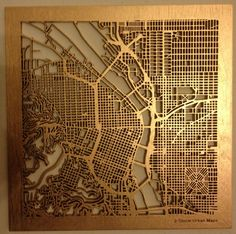"These are the14"" J-Storm Urban Maps from the Kickstarter Project"