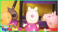 Peppa Pig Se ha Enfermado-  Peppa Pig se siente mal - Peppa Pig en español ToysForKidsHD
