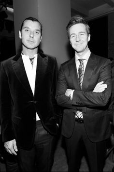 Parties — Zegna Store Opening in LA - Gavin Rossdale and Edward Norton.