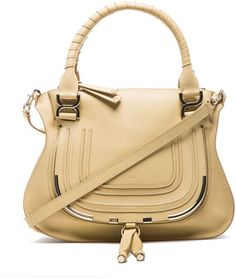 Chloe Medium Marcie Shoulder Bag in Biscotti Beige on shopstyle.com