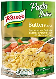 Knorr Pasta Sides, Butter 4.5 oz (pack of 12) * Unbelievable product is here! : Easy Dinner Meals
