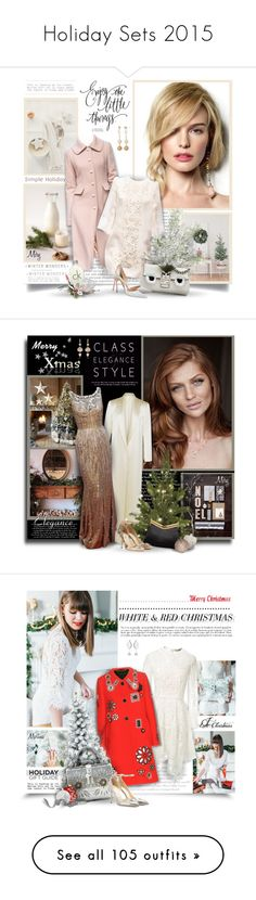 """Holiday Sets 2015"" by thewondersoffashion ❤ liked on Polyvore featuring Dolce&Gabbana, Fendi, Manolo Blahnik, Calvin Klein, Urban Decay, MAC Cosmetics, Vieste Rosa, dolceandgabbana, manolo and CelebrityStyle"
