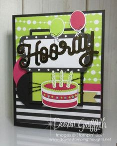 Broadway Star Paper Pumpkin with Card Sketch - Dawn's Stamping Thoughts Birthday Cheers, Birthday Wishes Cards, Happy Birthday, Dawns Stamping Thoughts, Stamping Up, Stampin Up Paper Pumpkin, Homemade Greeting Cards, Pumpkin Cards, Handmade Cards