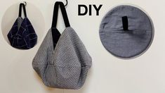 Diy Bags Purses, Diy Purse, Diy Bag Designs, Handbag Tutorial, Origami Bag, Japanese Bag, Bag Patterns To Sew, Denim Bag Patterns, Potli Bags