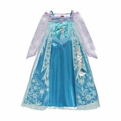 Frozen Disney Princess Elsa Fancy Dress BNWT 3 8yrs INC Hairpiece George Costume | eBay