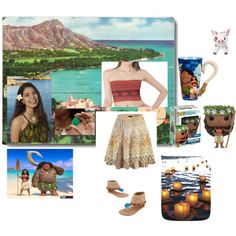 Fashmates Outfit Inspiration: Moana Moana Outfits, Polyvore Fashion, Polaroid Film, Style Inspiration, Awesome, How To Wear, Design