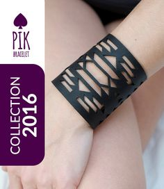 NEW model !!!!HOT PRICE!! Leather Bracelet cuff Leather Cuff Ladies Leather Bracelets Black Leather no40