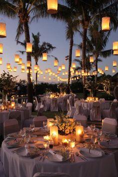 WEDDING WAX PAPER LANTERNS