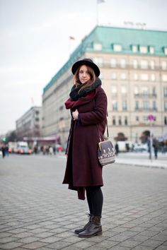Berlin Street Style Pics- German Fashion Winter love this colour for 2013 Berlin Street Style, Best Street Style, Street Style Looks, German Fashion, European Fashion, Over The Top, Fashion Weeks, Autumn Winter Fashion, Spring Fashion