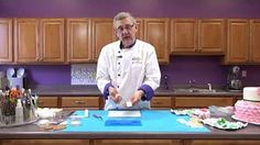 How to cover & finish a cake drum by Alan Tetreault of Global Sugar Art - YouTube
