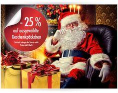 #Santa Special – 25 % auf ausgewählte #Geschenkpäckchen   Sparen Sie mit Santa und erhalten Sie auf ausgewählte Geschenkpäckchen! Ihr abama – the deco company Team #abama #dekoartikel #schaufensterdeko #visualmerchandising #décor #weihnachtsdeko #abamadeco #geschenkverpackung #weihnachtspapier #geschenkkartons #geschenkschachteln #decoration #decoration #LastMinuteDekoration