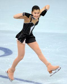 Kanako Murakami / Japanese figure skater.