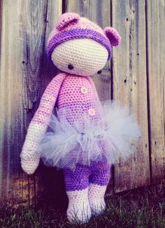 Crochet Ballerina Bear Free Pattern : 1000+ images about CROCHET - LALYLALA on Pinterest ...