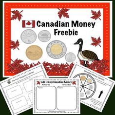 This Canadian money freebie contains two hands on activities to help your students practice the important skill of counting money.
