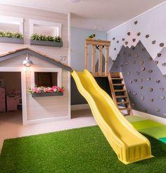 Behind the Scenes - Basement Playroom