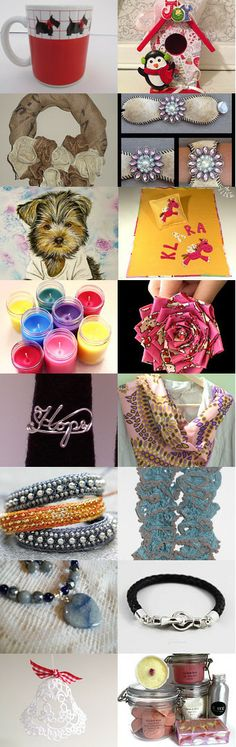 Christmas Gift Ideas  https://www.etsy.com/shop/Crystalscraftycorner