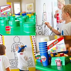 Games for Lego Birthday Party That Has Kids Building