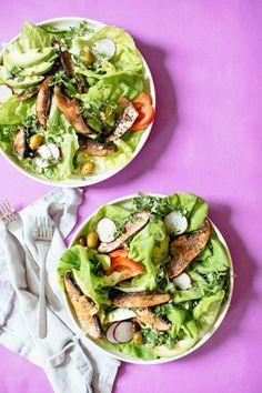 Portobello Mushroom Salad | Nutrition Stripped | Salad