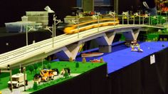 This Lego train has some serious speed