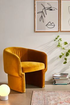 Velvet Accent Chair, Accent Chairs, Velvet Chairs, Affordable Furniture, Custom Furniture, Apartment Furniture, Home Furniture, Apartment Ideas, Vinyl Record Storage Shelf