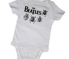 Beatles Bugs Onesie