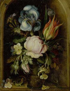 Roelant Savery Blumenstillleben 1612