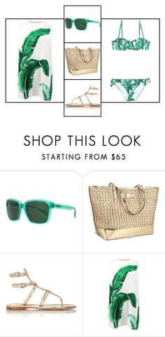 """""""Outfit # 3426"""" by miriam83 ❤ liked on Polyvore featuring Armani Exchange, Kate Spade, Prada and Dolce&Gabbana"""