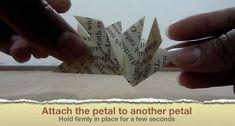 DIY Easy Origami Corner Bookmark : 29 Steps - Instructables easy step by step Origami Mouse, Origami Fish, Easy Origami, Origami Folding, Origami Ribbon, Origami Star Box, Origami Hearts, Origami Ball, Origami Flowers