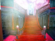 Loftus Hall 30 by 40 oil painting by akemanartist on Etsy