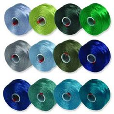 SLon Size D Color Mix 2 Bead Stringing by beadartjewelrysupply, $13.60