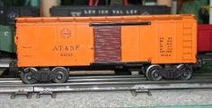 Lionel postwar # 6454 Santa Fe boxcar.