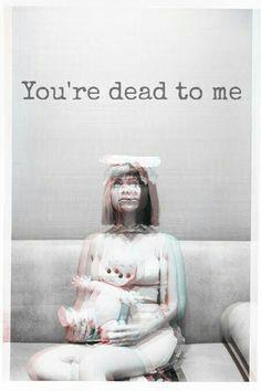 -Benim için öldün-