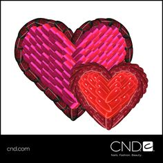 Say it with the perfect manicure, Happy #ValentinesDay from all of us at #CND!