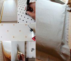schlafzimmer inspiration für schlafzimmer gemütlich einrichten in ... - Kopfteil Fur Bett Wanddeko Schlafzimmer