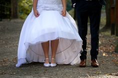 Wedding shoes feet Picture Shooting idea bride and groom