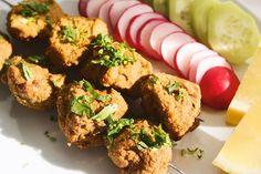 Pinchitos Veganos a la India | http://sutobu.es/recetas-cocina/recetas-indias/pinchitos-veganos-india/