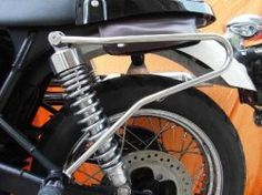 Stainless Steel Luggage Bracket (single) Bonnie/Thruxton/Scramb
