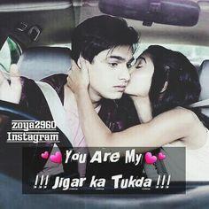 You Are My !!!Jigar Ka Tukda!!! Kaira ❤ Mohsin khan ❤ Shivangi Joshi ❤