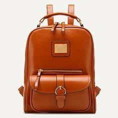 Buy 'BeiBaoBao – Faux Leather Backpack' with Free International Shipping at YesStyle.com. Browse and shop for thousands of Asian fashion items from China and more!