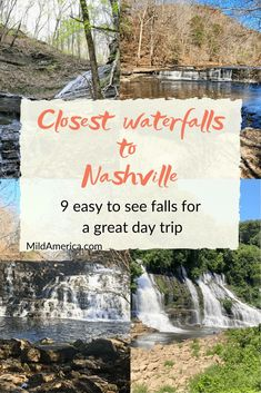 Waterfalls are abundant in middle TN. I've put together a list of the 9 closest waterfalls to Nashville. Make some time while in Nashville for natures amazing beauty. Travel Sights, Travel Usa, Waterfalls Near Nashville, Rock Island State Park, Waterfall Hikes, Us Travel Destinations, Swimming Holes, Travel Activities, Natural Wonders