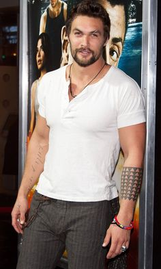 27 Times Jason Momoa Almost Burst Out of His Shirt (and We All Crossed Our Fingers)
