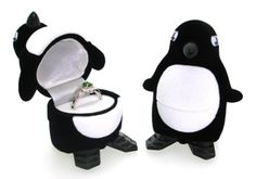 I hope I get proposed to with this box. Kids Jewelry Box, Small Jewelry Box, Next Wedding, Dream Wedding, Wedding List, Wedding Ideas, Penguin Wedding, Faberge Jewelry, Ring Holder Wedding