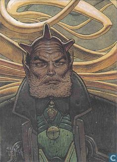 Graad the Keeper - Moebius (collector cards) - Catawiki