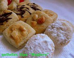 Estas pastas lasencontré en el blog de María , que por cierto os recomiendo. Si os gustan pasaros a conocerla, veréis un montón de gallet...