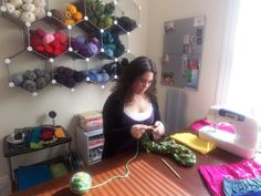 Classic Grown-Up Gigs: with Daily Show talent coordinator / Knitting extraordinaire Beth Shorr!